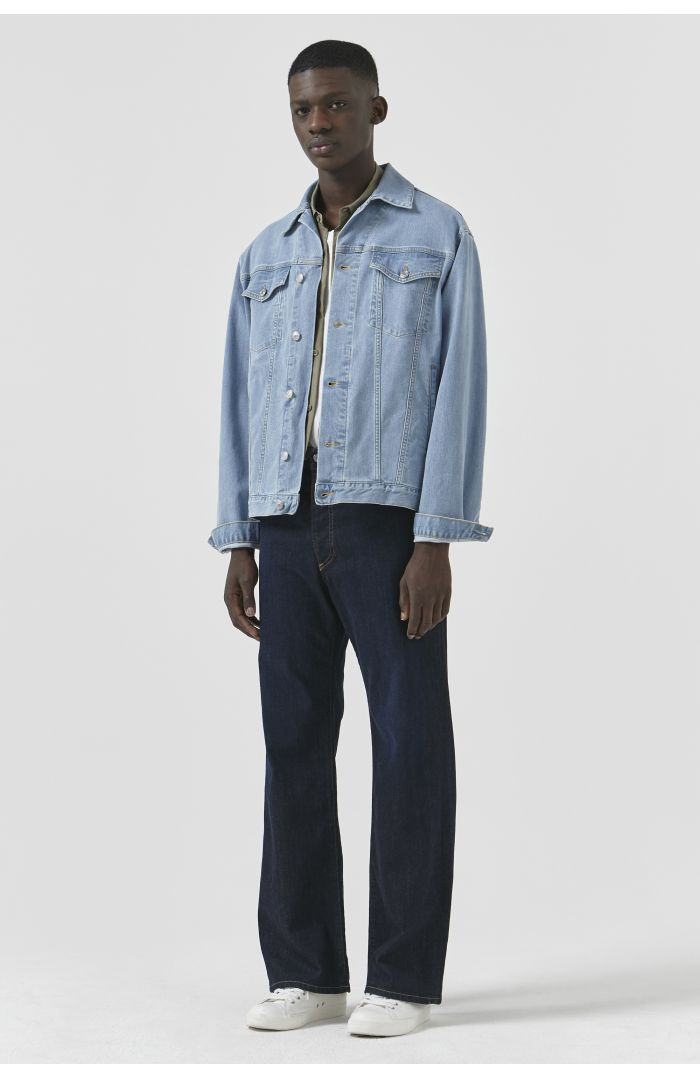 Ted By Katharine Hamnett Light Wash Denim Jacket Men