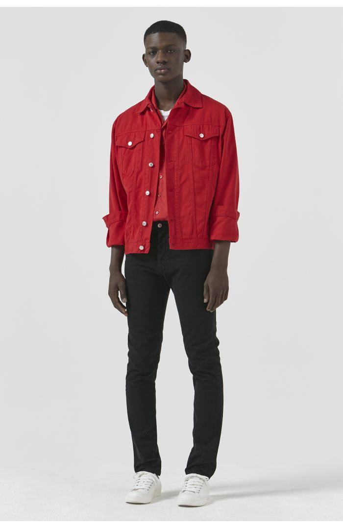 TED RED DRILL JACKET