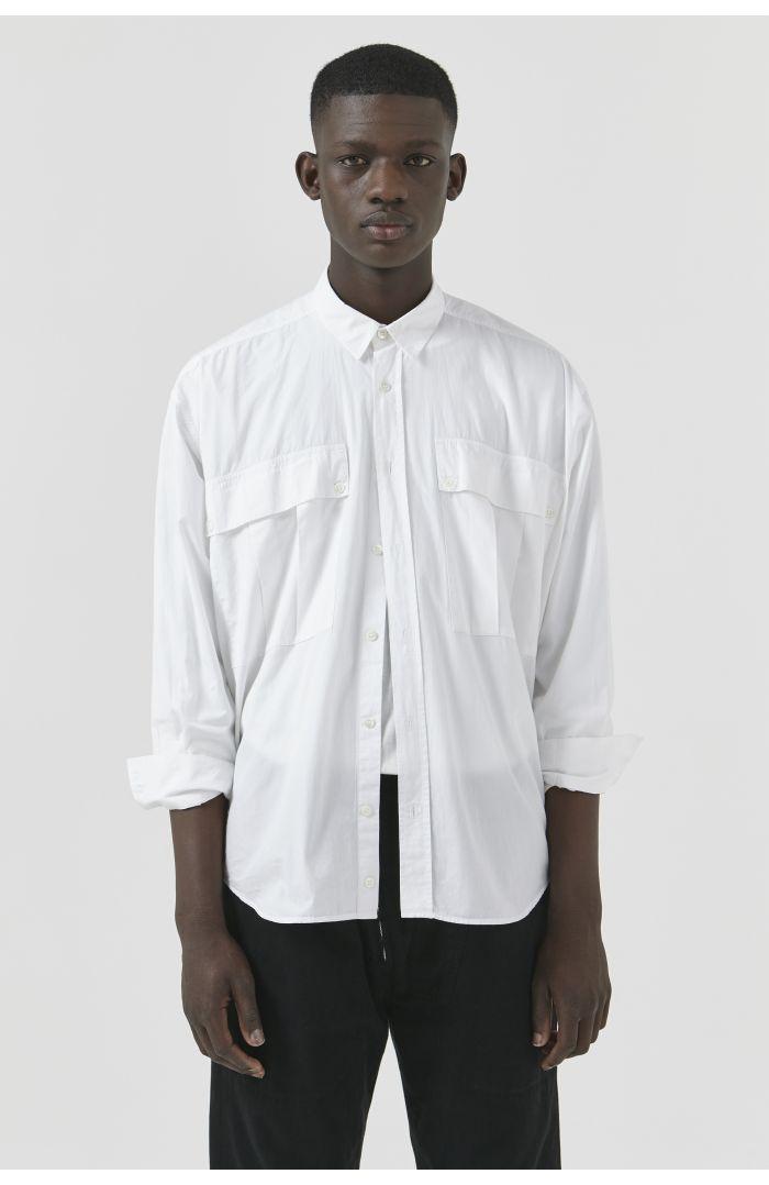 Alex White Organic Cotton Shirt
