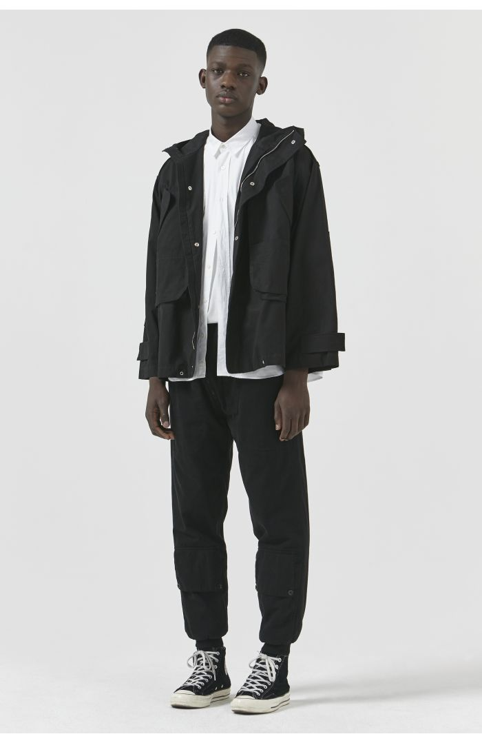 LIONEL BLACK ORGANIC COTTON JACKET