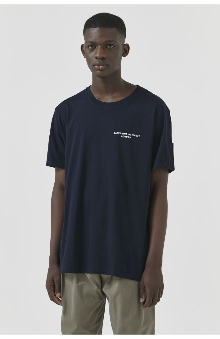Ivan Navy Organic Cotton T-Shirt