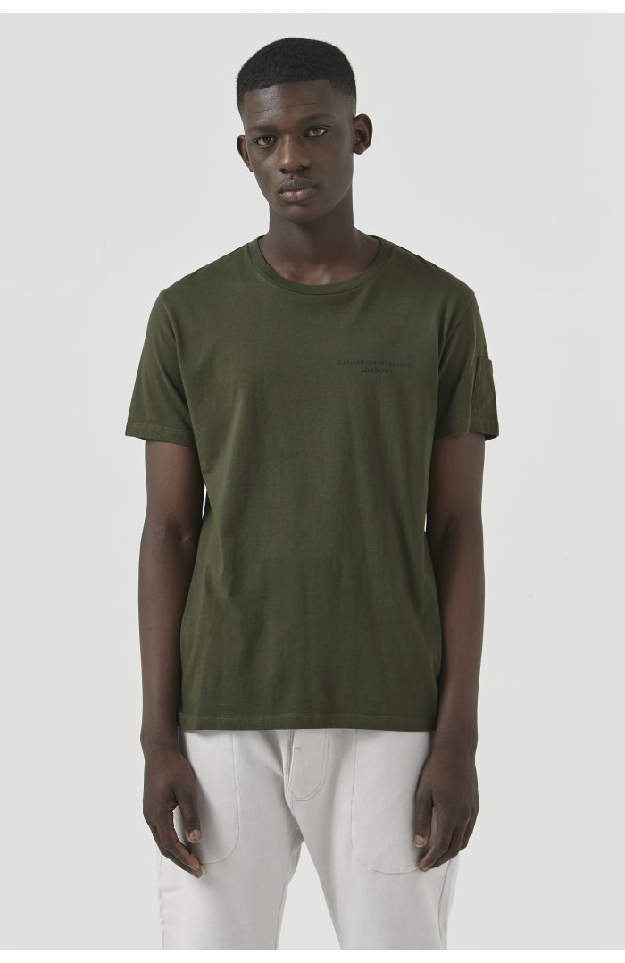 Ivan Khaki Organic Cotton T-Shirt