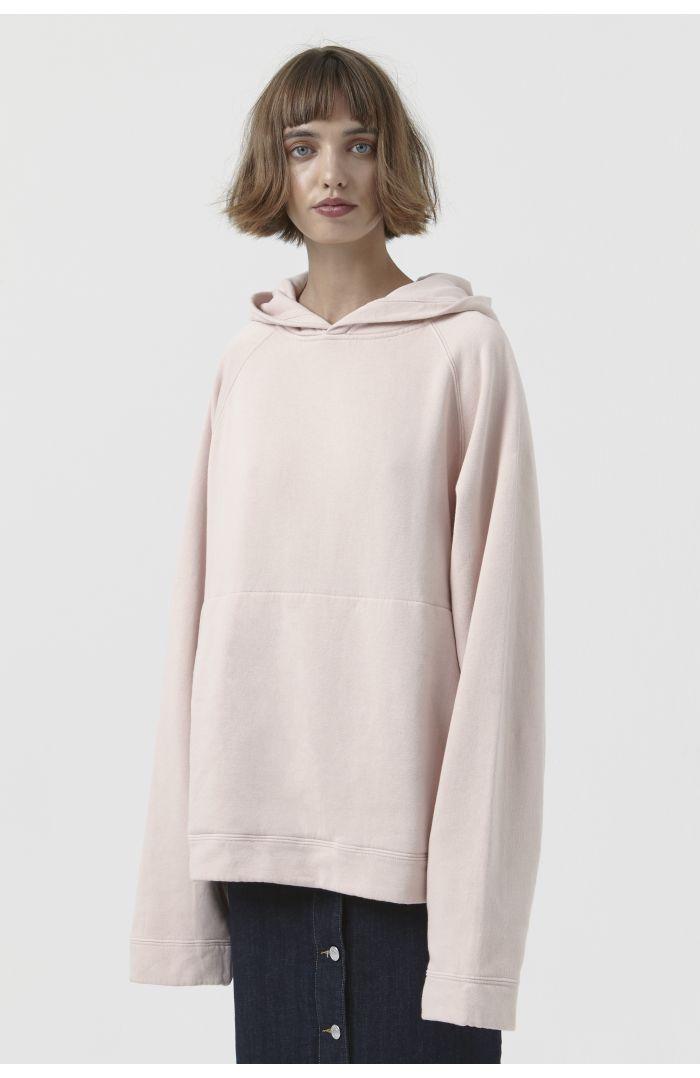 Rick Pink Organic Cotton Hoodie