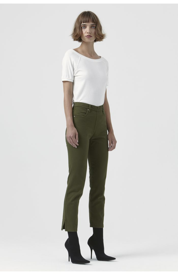 Rodeo Khaki Organic Cotton Trousers