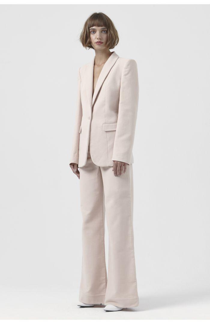 Sofia Pink Organic Cotton Blazer