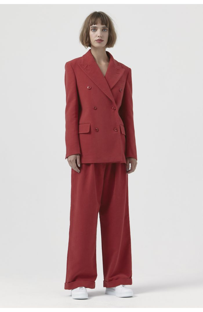 Olivia Red Organic Cotton Jacket