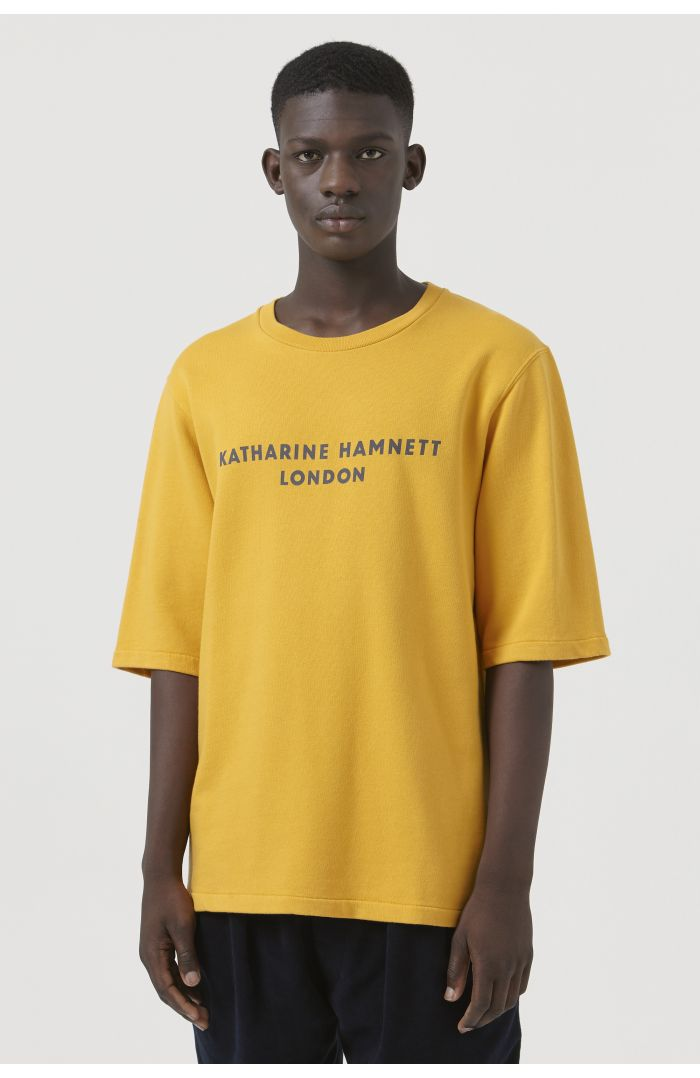 George Yellow Organic Cotton Sweatshirt