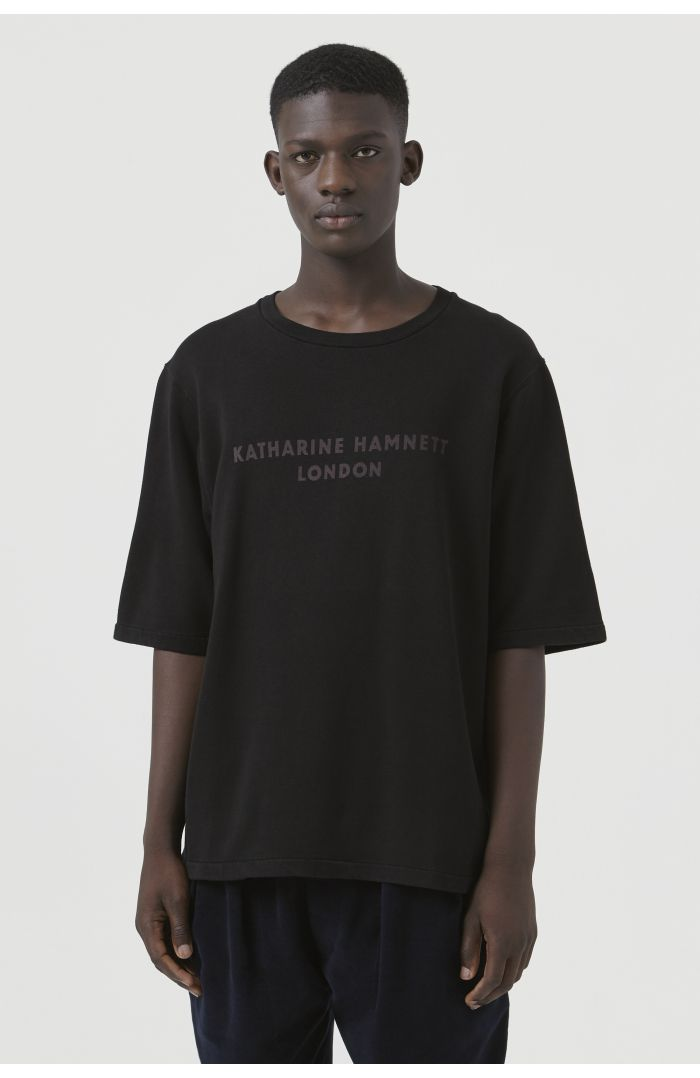 George Black Organic Cotton Sweatshirt