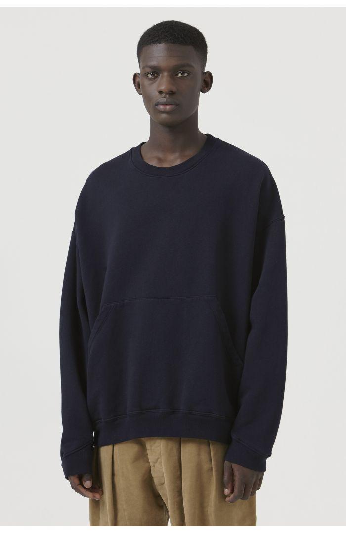 Joey Navy Organic Cotton Sweatshirt