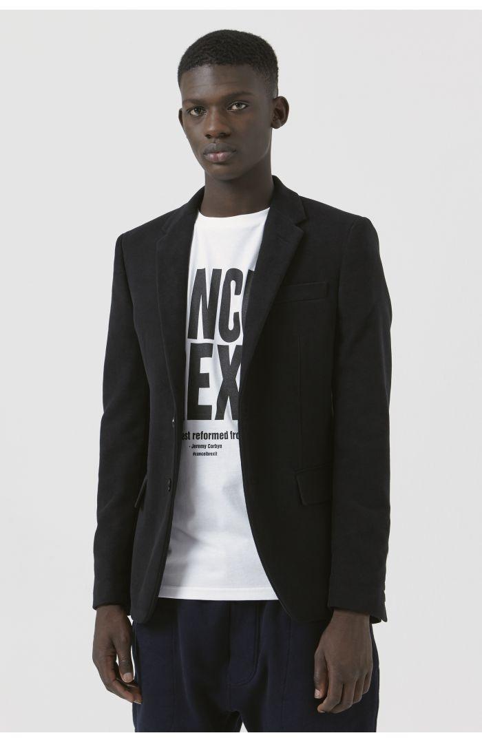 Rufus Black Organic Cotton Blazer