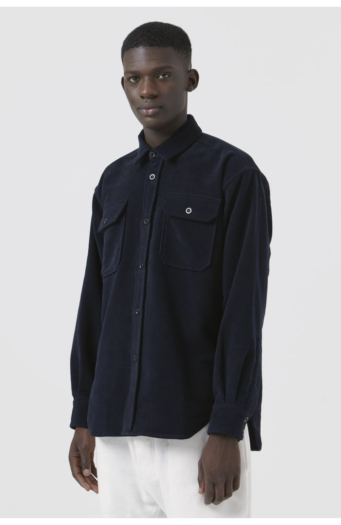 Dante Navy Organic Cotton Shirt