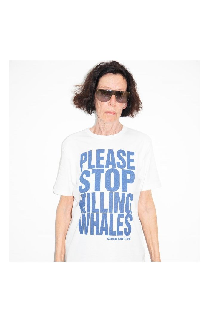 PLEASE STOP KILLING WHALES T-SHIRT