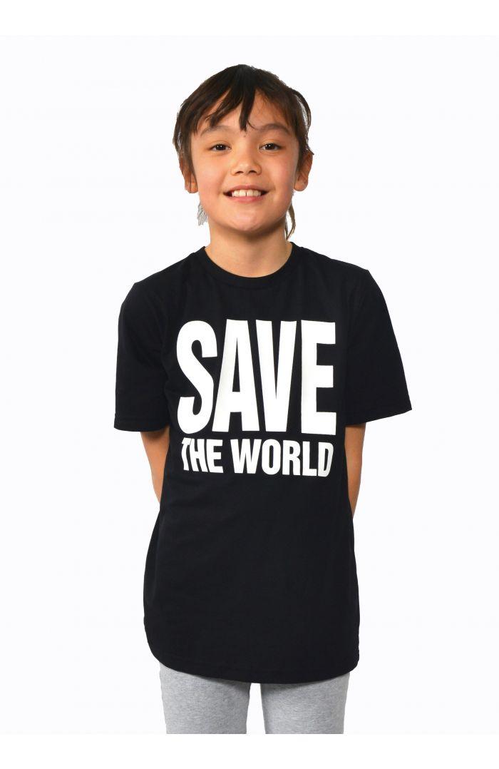 Save The World Short Sleeves T-Shirt