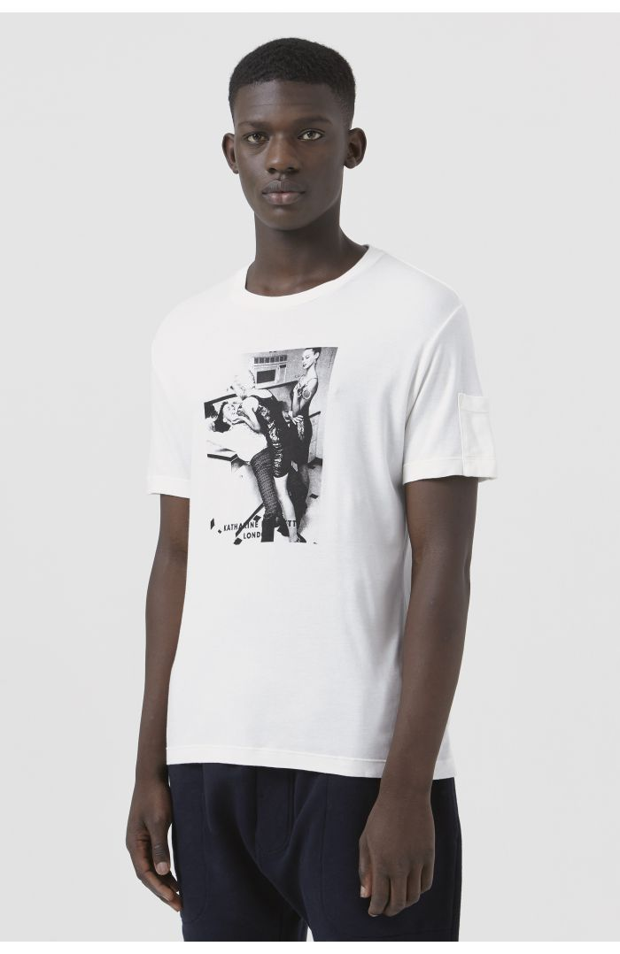 Ivan White Organic Cotton Archive Campaign T-Shirt