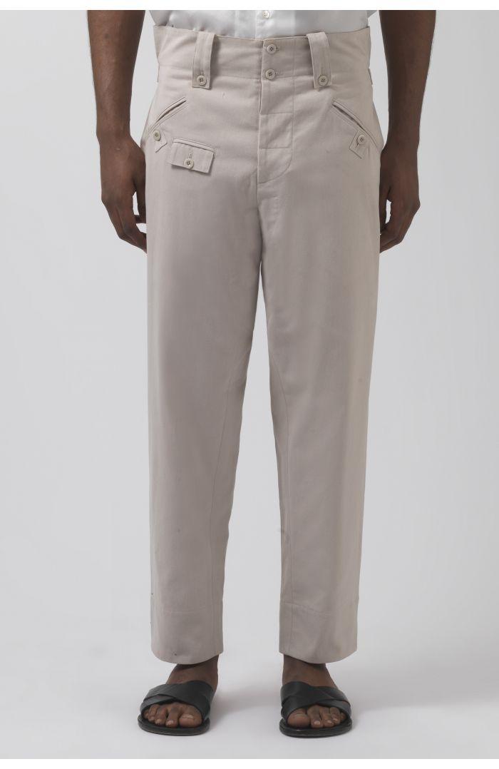 Rider Stone Organic Cotton Trousers