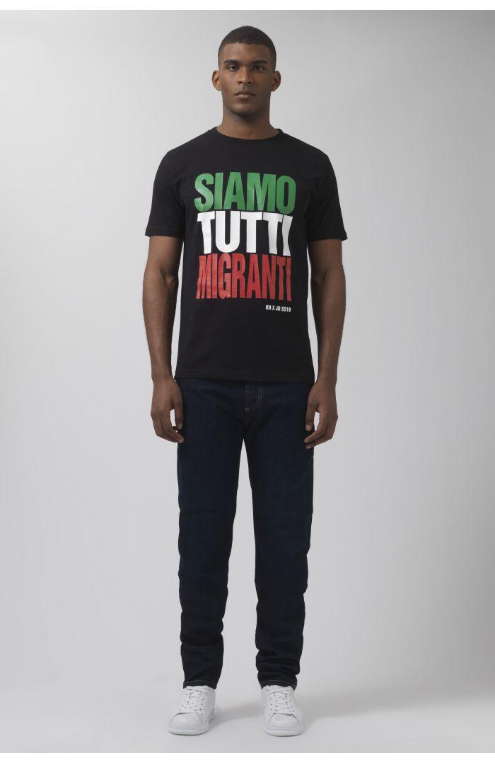 Siamo Tutti Migranti T-Shirt