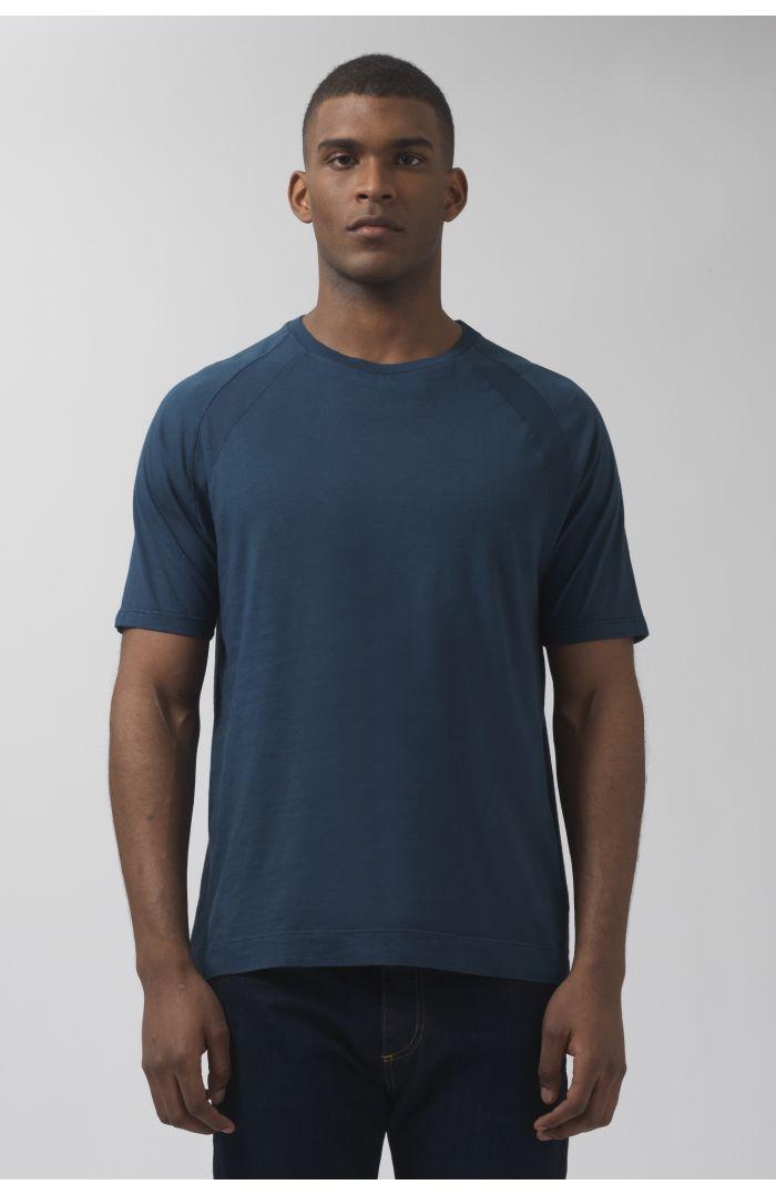 Ivanoe navy organic cotton t-shirt