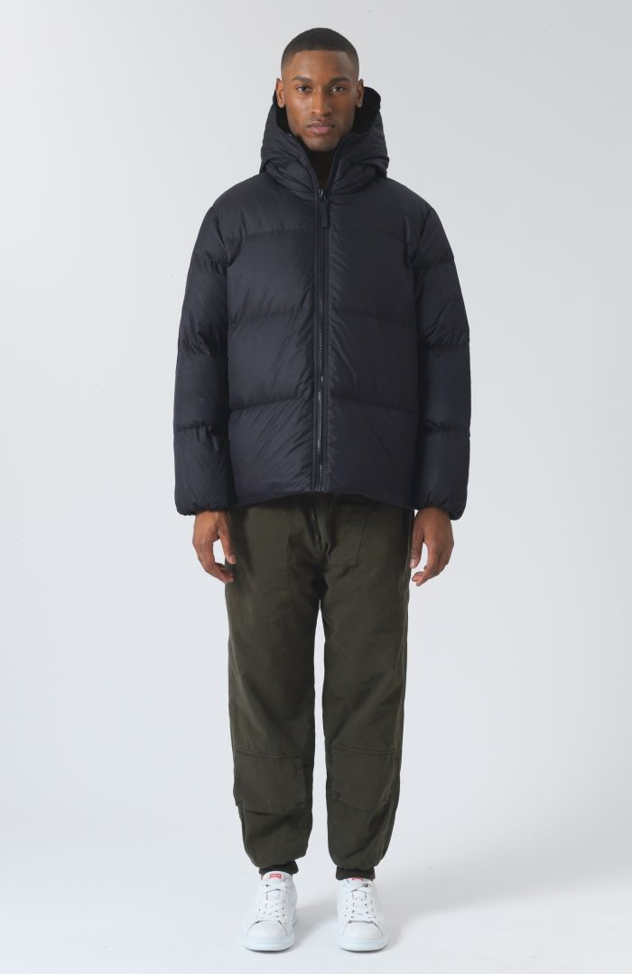 Alistair Recycled Down Navy Puffer Jacket