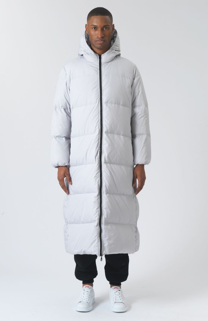 Claude Grey Recycled Polyester Parka