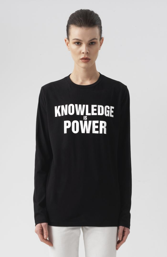 Knowledge Is Power Long Sleeves T-Shirt