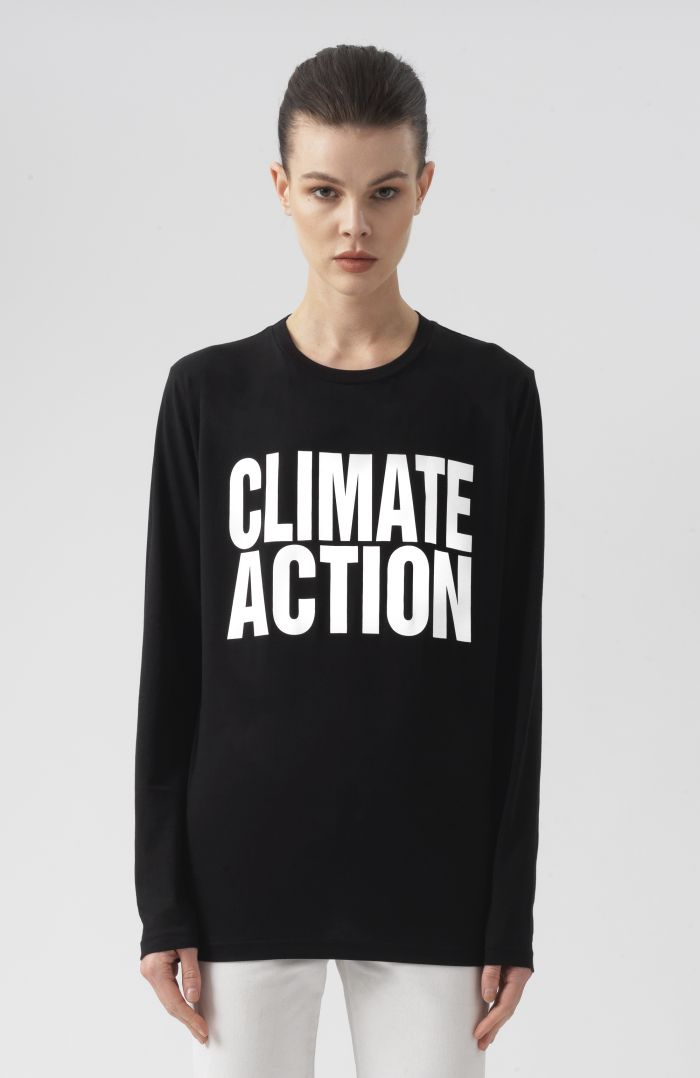 Climate Action Long Sleeves T-Shirt