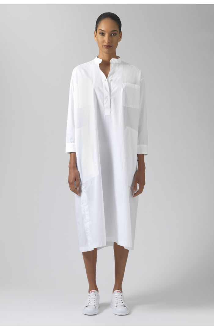 Kath white organic cotton dress