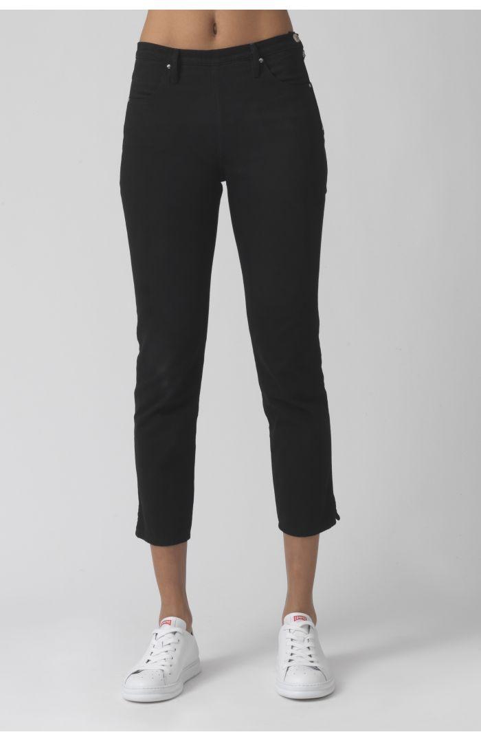 Rodeo Black Organic Cotton Trousers