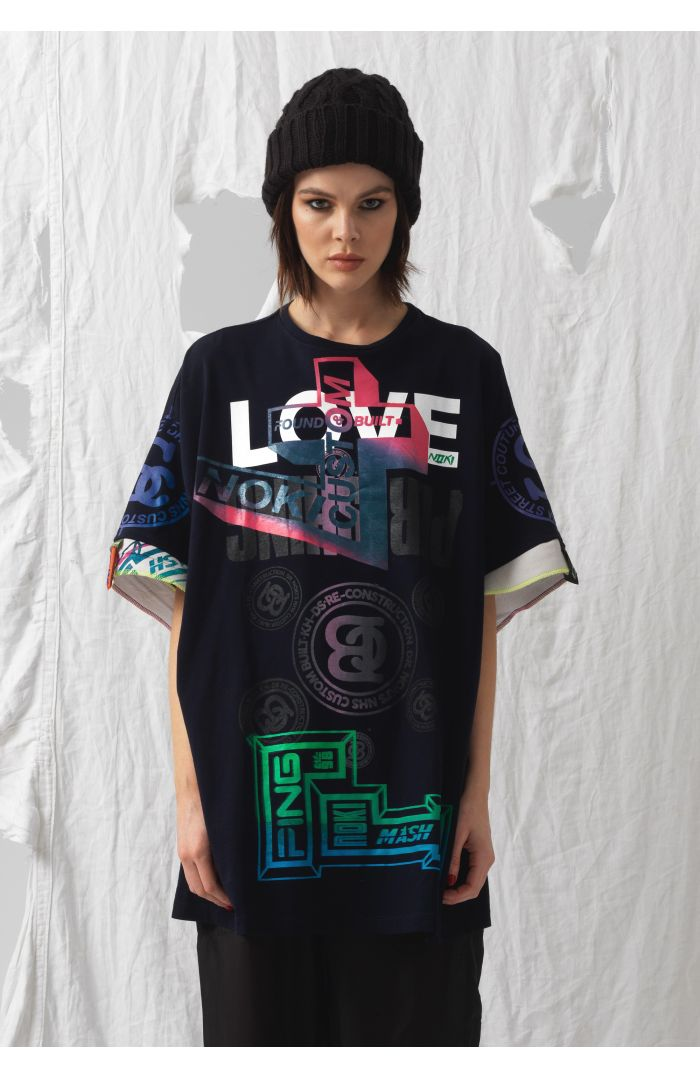 Love Upcycled T-Shirt