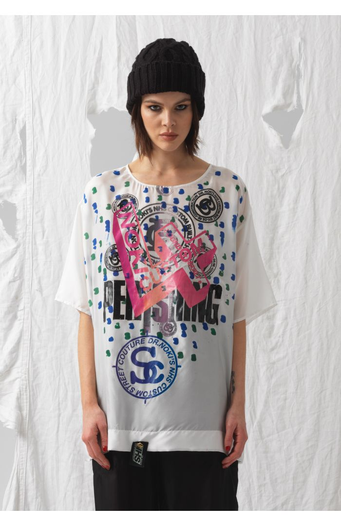 Maggie Silk Upcycled T-Shirt