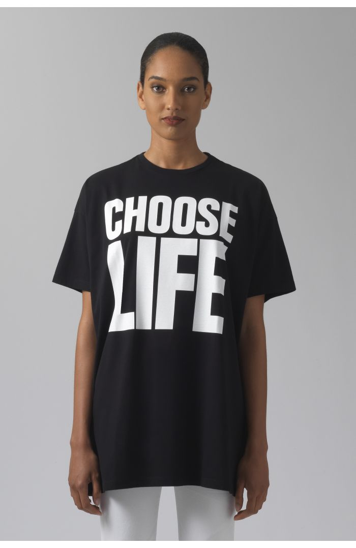 CHOOSE LIFE OVERSIZED T-SHIRT