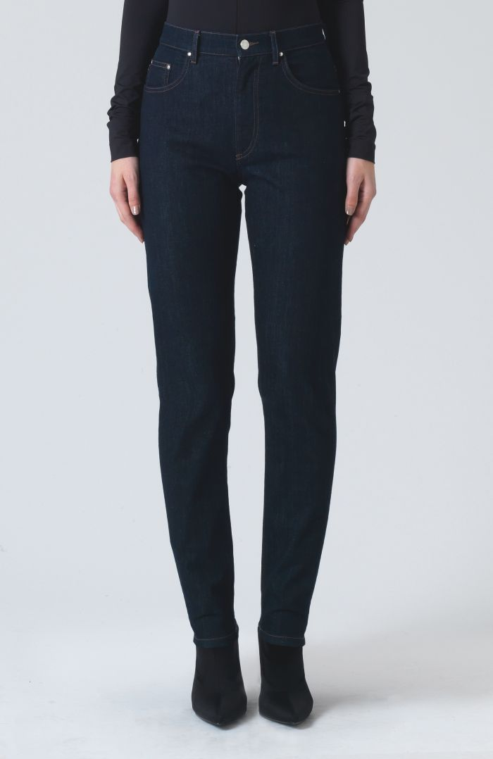 Patsy Rinse Wash Denim Trousers