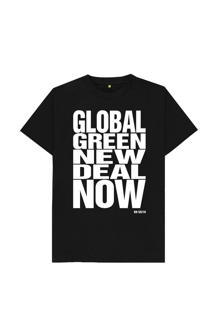 GLOBAL GREEN NEW DEAL NOW T-SHIRT