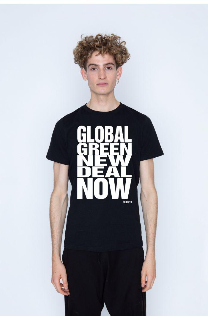 GLOBAL GREEN NEW DEAL NOW T-SHIRT