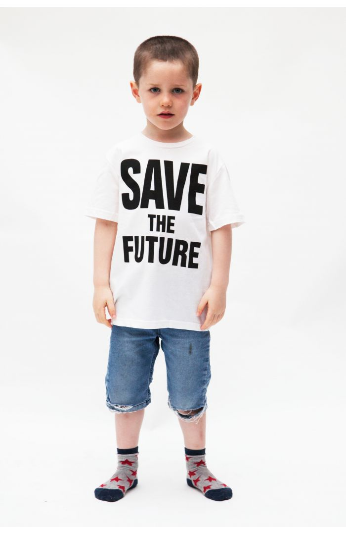 SAVE THE FUTURE ORGANIC COTTON T-SHIRT