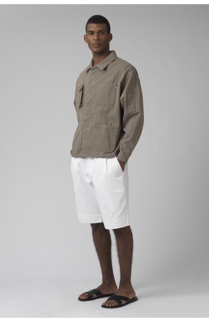 Patrick khaki organic cotton jacket