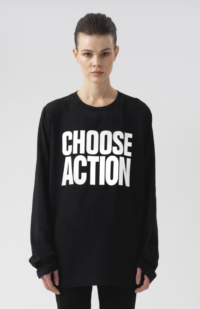 Choose Action Long Sleeves T-Shirt