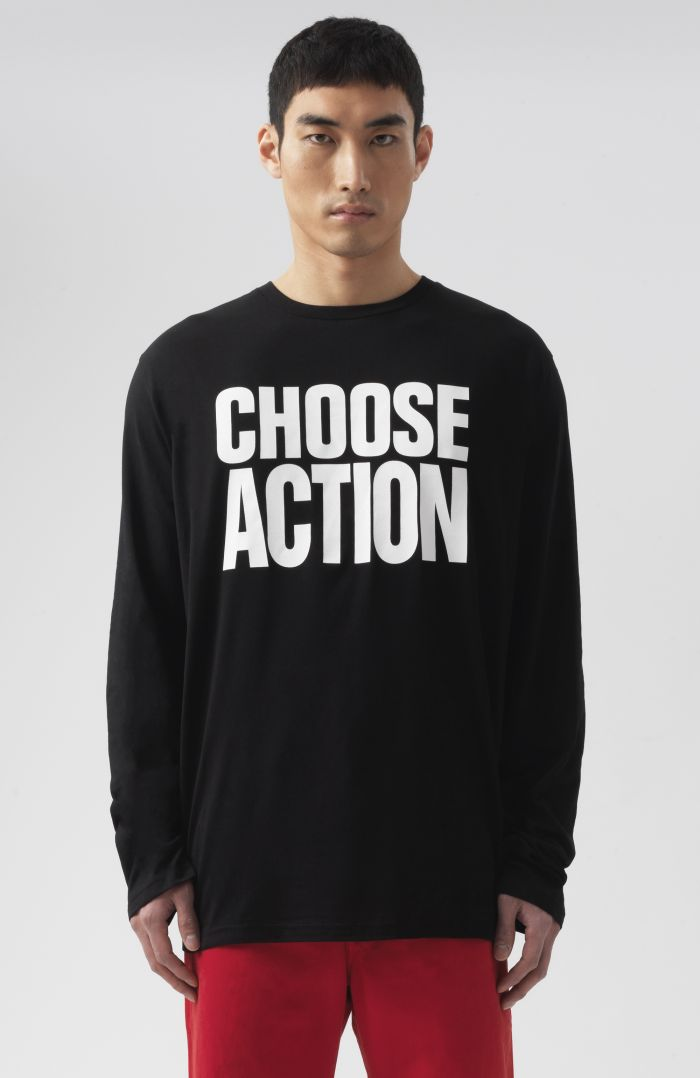 Choose Action Long Sleeves T-Shirt