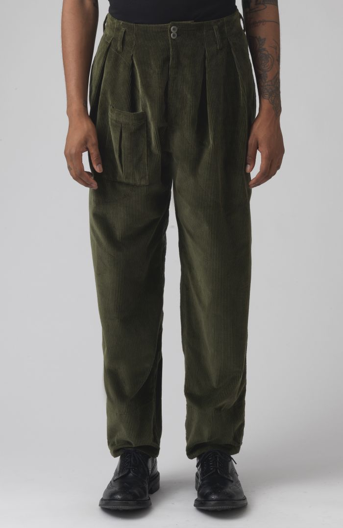 Xam Khaki Organic cotton trousers