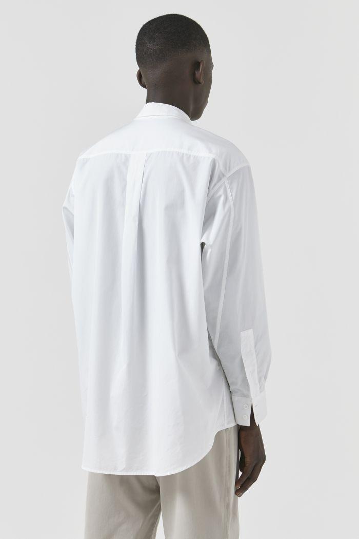 Nicola White Organic Cotton Shirt