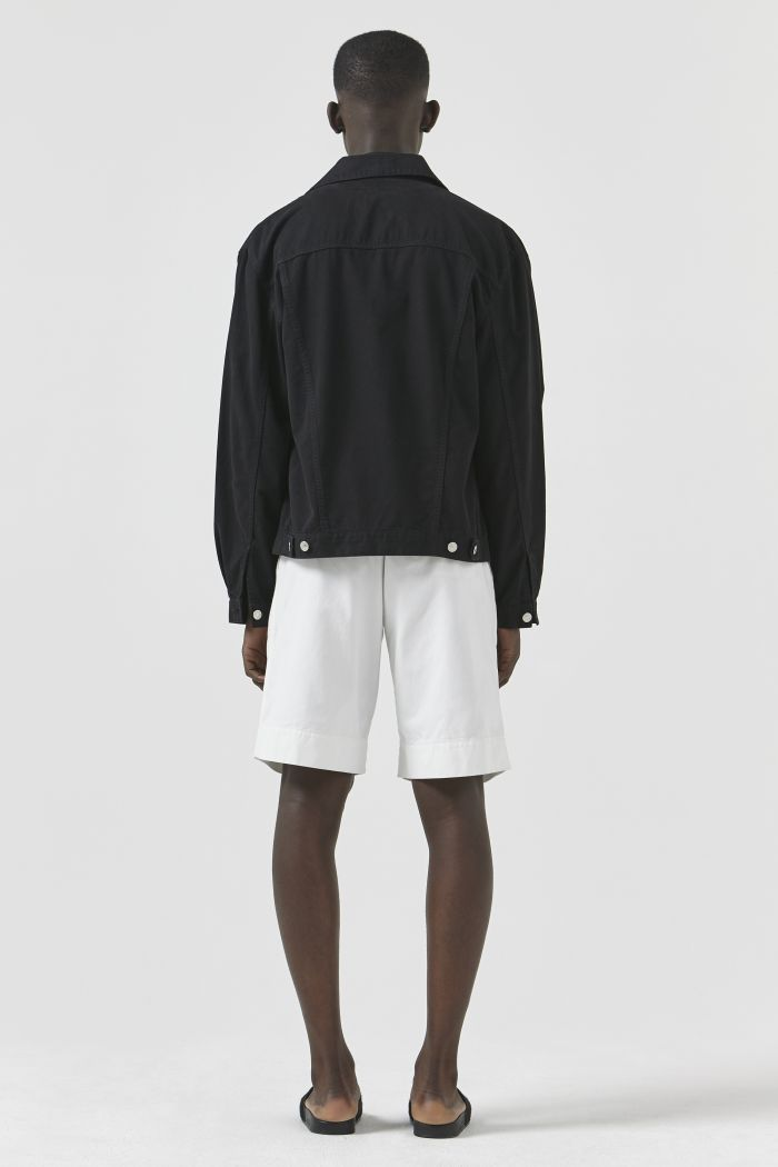 TED BLACK DRILL JACKET