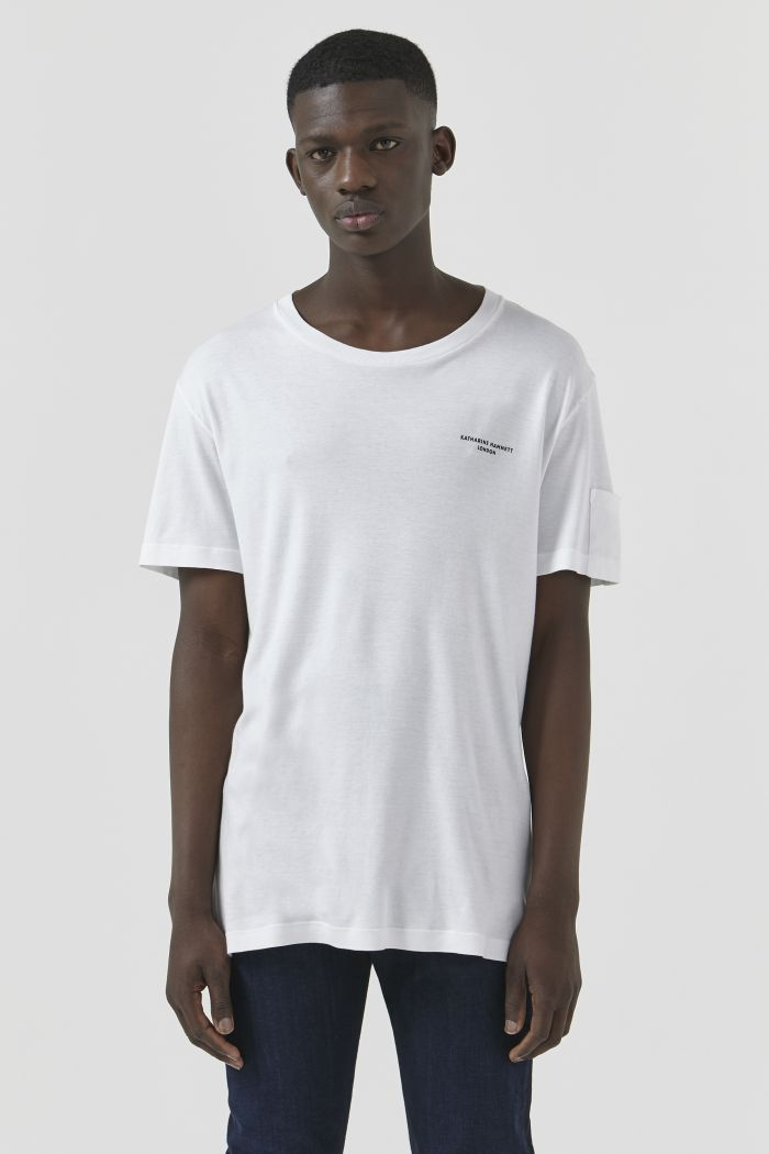 Ivan White Organic Cotton T-Shirt