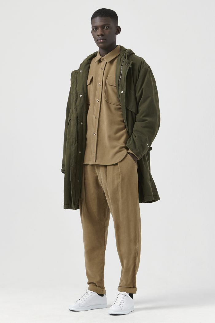 Will Khaki Organic Cotton Parka