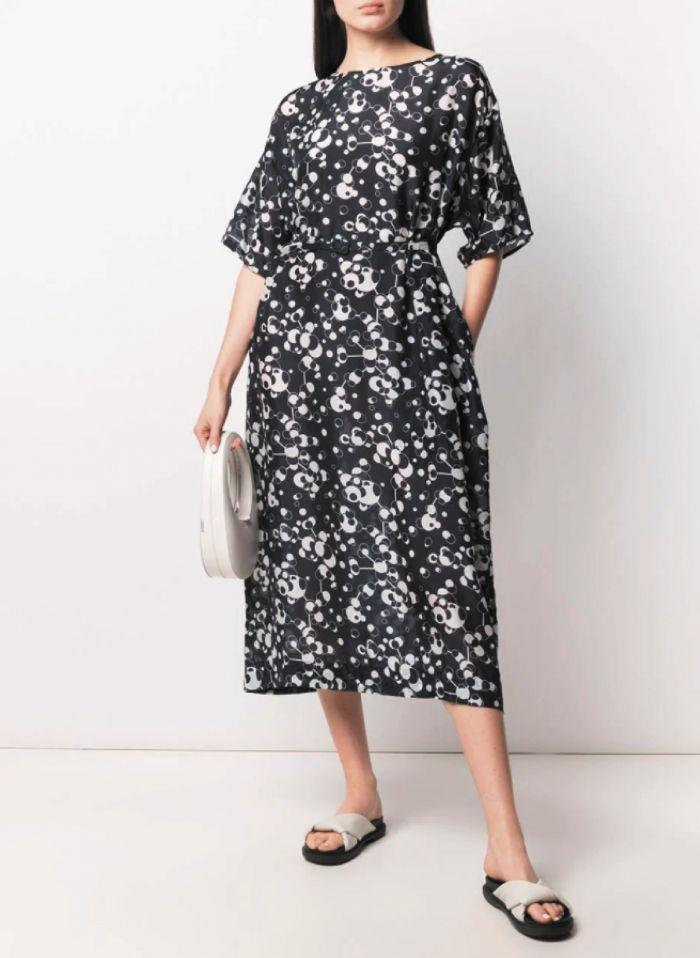 Magdalou silk dress