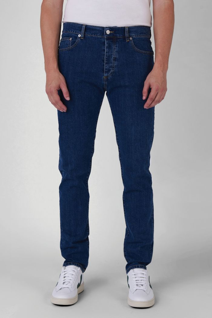 MICK ORGANIC COTTON MEDIUM WASH JEANS
