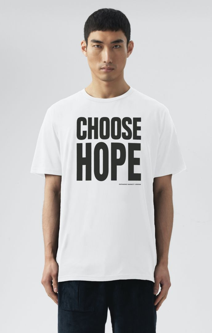 CHOOSE HOPE ORGANIC COTTON T-SHIRT