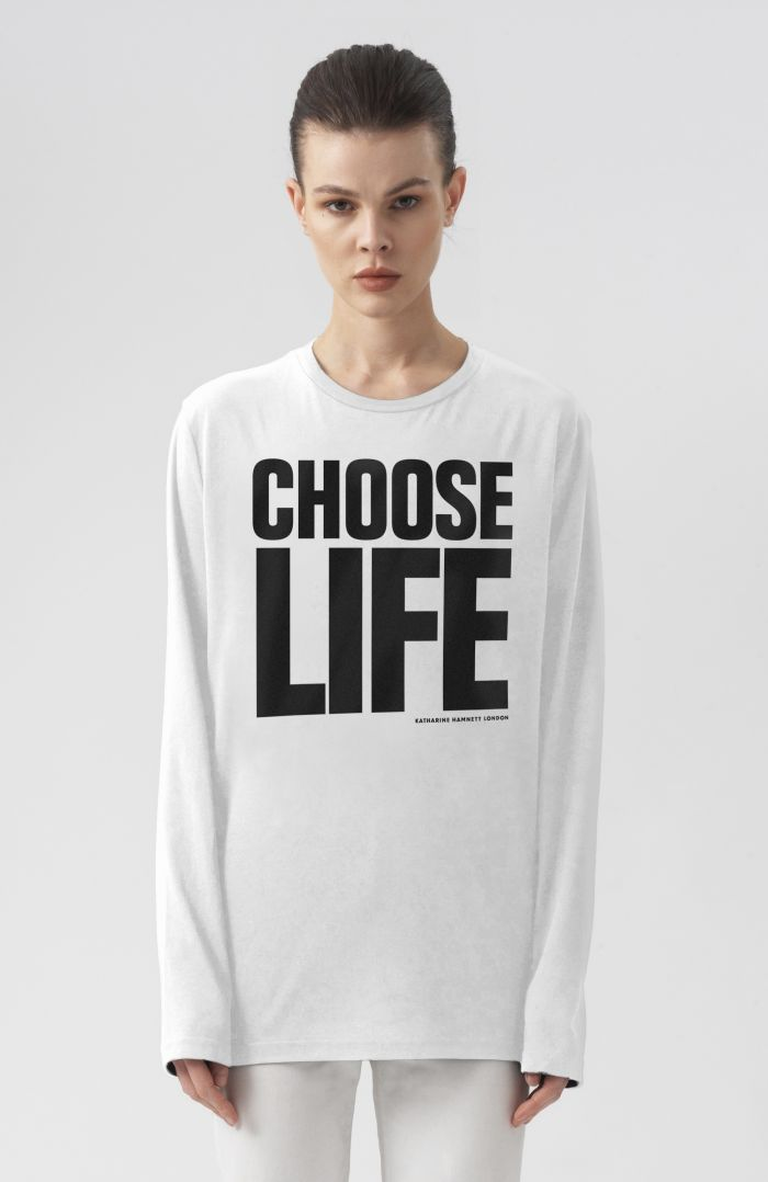 CHOOSE LIFE LONG SLEEVE T-SHIRT