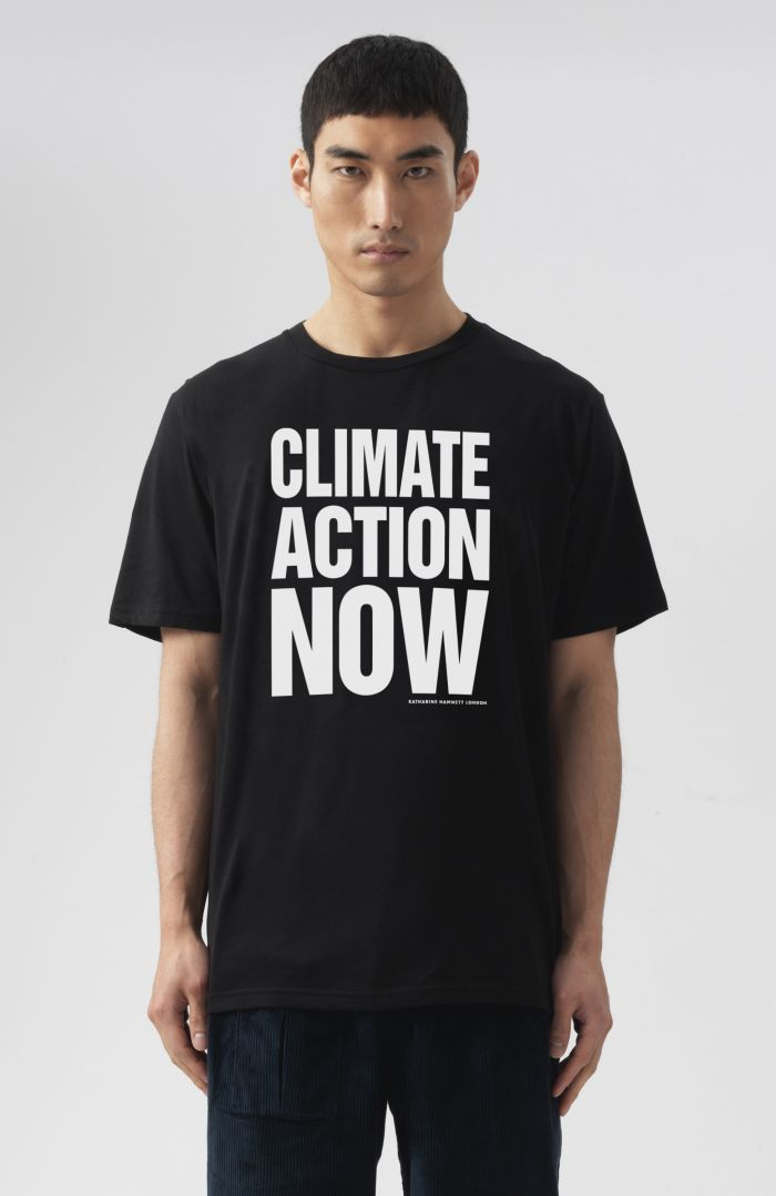 CLIMATE ACTION NOW ORGANIC COTTON T-SHIRT