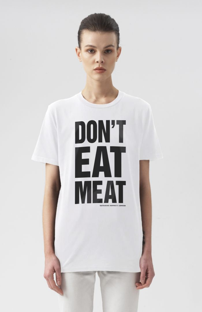Don't Eat Meat Short Sleeve T-Shirt