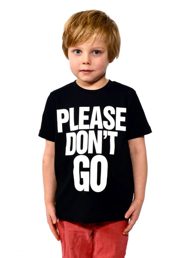 Please Don't Go Short Sleeve T-Shirt