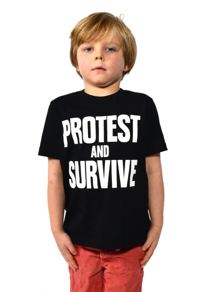 Protest And Survive Short Sleeve T-Shirt